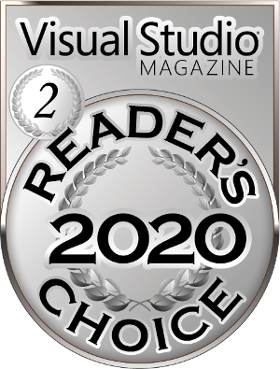 Visual Studio Magazine Reader's Choice Award 2020