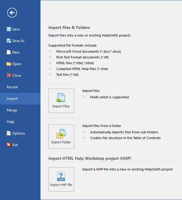 Help Authoring Tool to Create a CHM Help File, Web Help, PDF