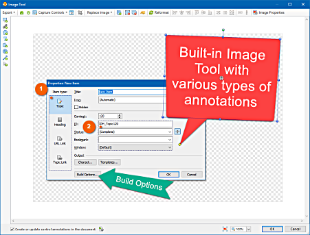 Create and edit screenshots with built-in Image Tool